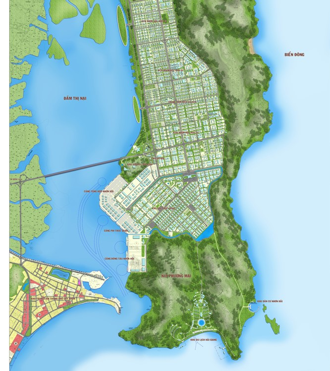 Bình Định chọn nhà đầu tư cho dự án Night Paradise Nhơn Hội và Hải Giang Merry Land mở rộng