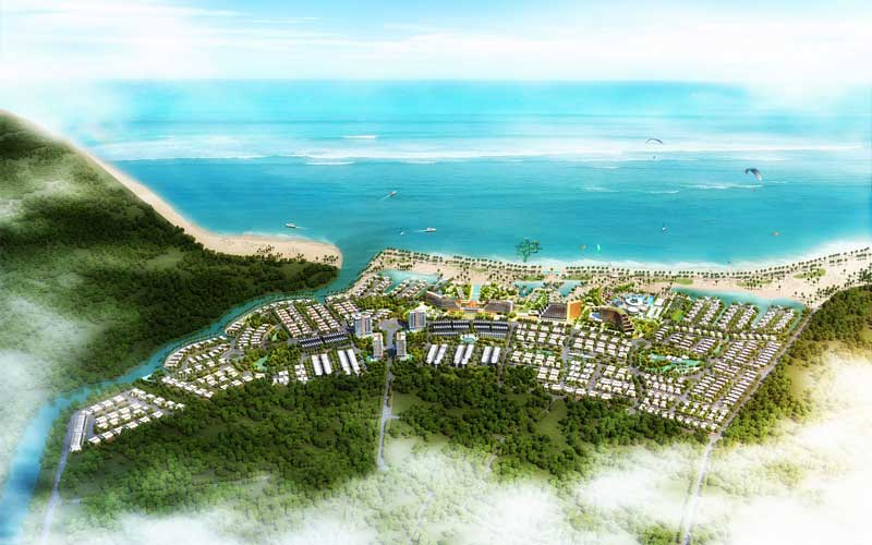 Điều chỉnh Khu du lịch Hải Giang Merry Land trị giá hơn 3.400 tỷ đồng